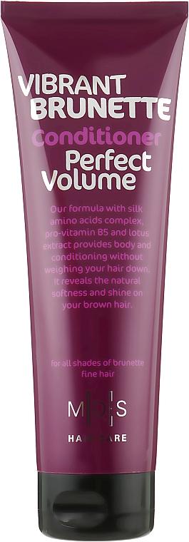 Кондиционер «Идеальный объем. Жгучая брюнетка» - Mades Cosmetics Vibrant Brunette Perfect Volume Conditioner