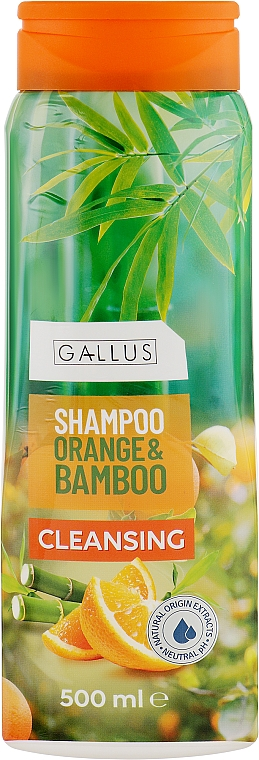 "Шампунь для волос ""Апельсин и бамбук"" - Gallus Orange&Bamboo Shampoo"