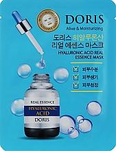 Духи, Парфюмерия, косметика Ампульная маска для лица с гиалуроновой кислотой - Doris Hyaluronic Acid Real Essence Mask