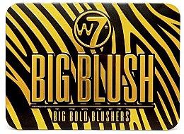 Духи, Парфюмерия, косметика Палитра румян - W7 Cosmetics Big Blush 6 Big Bold Blushers