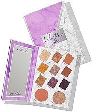 Духи, Парфюмерия, косметика Палетка для макияжа - Tarte Cosmetics X Lele Pons Eye Cheeks & Contouring 11 Shade Palette