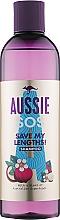 Парфумерія, косметика Шампунь для пошкодженого волосся - Aussie SOS Save My Lengths! Shampoo