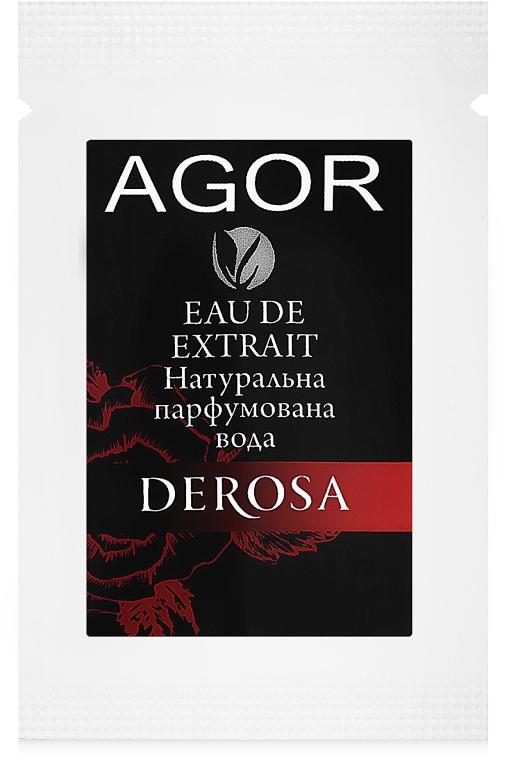 Agor Derosa - Парфюмированная вода (пробник)
