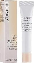 Духи, Парфюмерия, косметика Интенсивный крем против морщин вокруг глаз - Shiseido Benefiance WrinkleResist24 Intensive Eye Contour Cream (мини)
