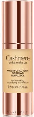 Матовая тональная основа - Dax Cashmere Active Make-Up Mattifying Foundation — фото Classic Beige