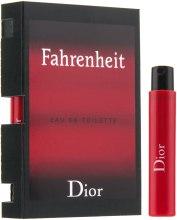 Духи, Парфюмерия, косметика Dior Fahrenheit - Туалетная вода (пробник)
