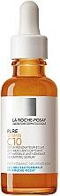 Парфумерія, косметика Сироватка-антиоксидант з вітаміном С проти зморшок для оновлення шкіри обличчя - La Roche-Posay Pure Vitamin C10 Anti-Wrinkle Anti-Oxidant Renovating Serum
