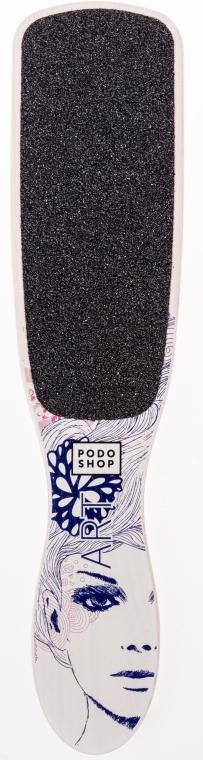 Пилка для ног - Podoshop Art Lady Foot File