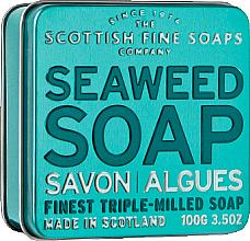"Духи, Парфюмерия, косметика Мыло ""Морские водоросли"" - Scottish Fine Soaps Seaweed Soap In A Tin"