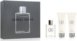 Духи, Парфюмерия, косметика Giorgio Armani Acqua di Gio - Набор (edt 50ml + a/sh balm 75ml + sh/gel 75ml)