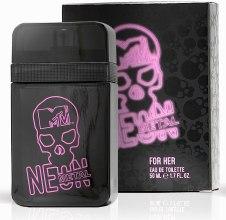 Духи, Парфюмерия, косметика MTV Perfumes Neon Metal - Туалетная вода