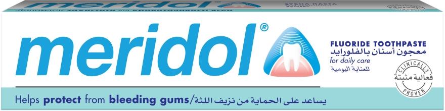 Зубная паста от кровоточивости десен - meridol Fluoride Toothpaste