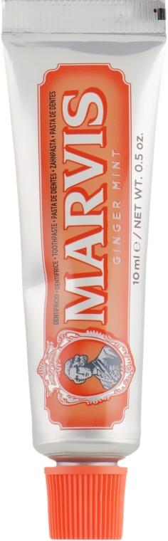 "Зубная паста ""Имбирь и мята"" - Marvis Ginger Mint Toothpaste (мини)"