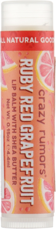 Бальзам для губ - Crazy Rumors Ruby Red Grapefruit Lip Balm