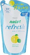 Духи, Парфюмерия, косметика Жидкое мыло для тела с ароматом цитрусовых - Kanebo Naive (сменный блок)