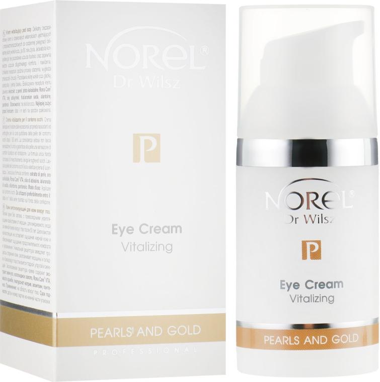 Восстанавливающие крем для зрелой кожи вокруг глаз - Norel Pearls and Gold Vitalizing Eye Cream