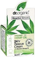 Духи, Парфюмерия, косметика Увлажняющий урем для лица - Dr. Organic Hemp Oil 24hr Rescue Cream