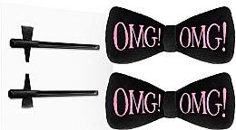 Духи, Парфюмерия, косметика Заколка для фиксации волос, черная - Double Dare OMG! Hair Up Bow