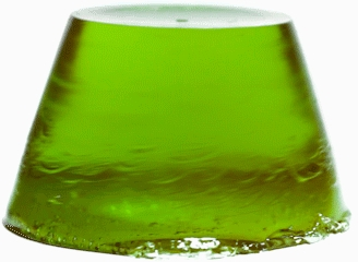 "Желейное мыло для душа яблочно-ревеневое ""Поймай, если сможешь"" - Stenders Apple/Ruhbarb Jelly Soap Pick Me Up — фото N5"