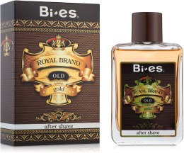 Парфумерія, косметика Bi-Es Royal Brand Gold - Лосьйон після гоління