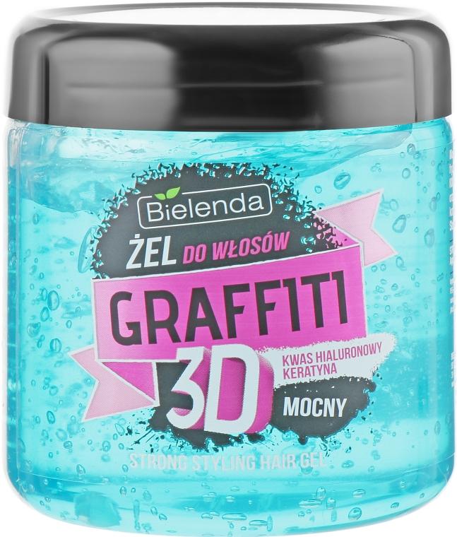 Гель для волос - Bielenda Graffiti 3D Strong Styling Hair Gel