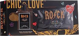 Духи, Парфюмерия, косметика Chic&Love Rock - Набор (edt/100ml + bag)