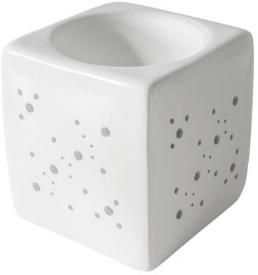 Аромалампа квадратная, белая - Flagolie By Paese Cube Fireplace White