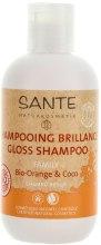 Духи, Парфюмерия, косметика Шампунь для блеска и объема волос «Апельсин и кокос» - Sante Family Orange & Coconut Gloss Shampoo