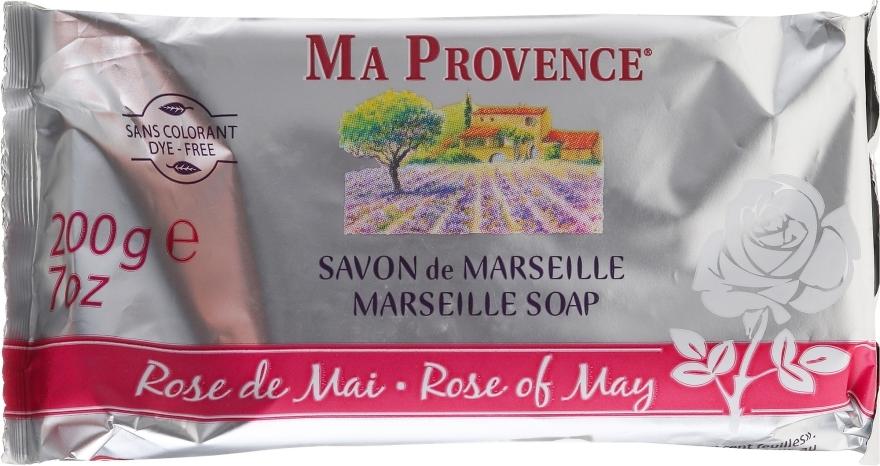 "Мыло из Марселя ""Майская роза"" - Ma Provence Marseille Soap Rose of May"