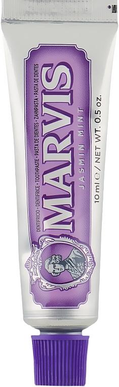 """Зубная паста """"Мята и жасмин"""" - Marvis Jasmin Mint (мини)"""