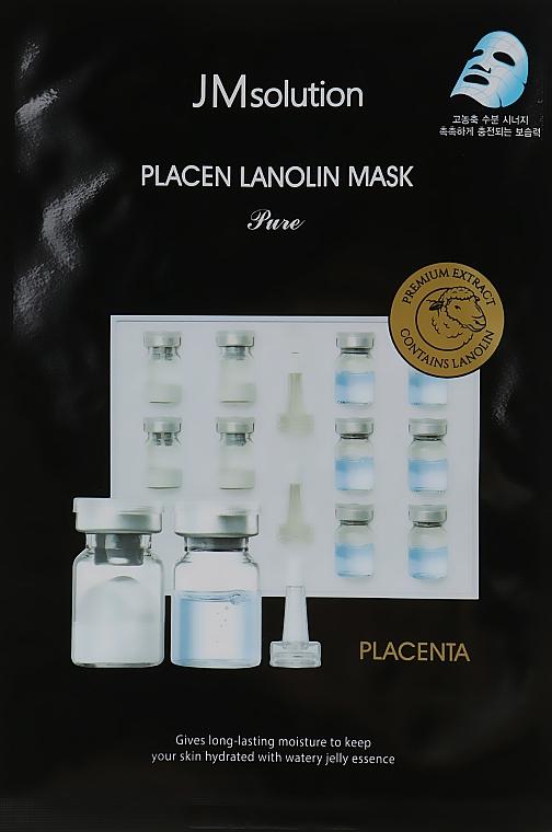 Увлажняющая маска с протеинами плаценты и ланолином - JMsolution Placen Lanolin Mask Pure
