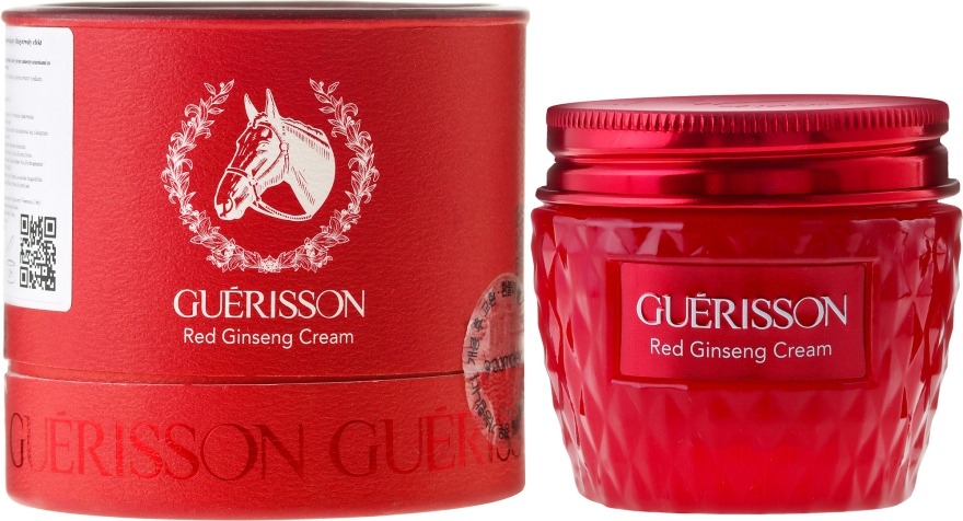 Крем для лица - Guerisson Red Jinseng Cream — фото N1