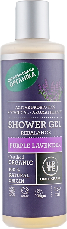 "Гель для душа ""Лаванда"" - Urtekram Purple Lavender Shower Gel"