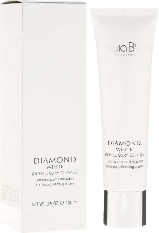 Очищающий крем для роскошного блеска - Natura Bisse Diamond White Rich Luxury Cleanser