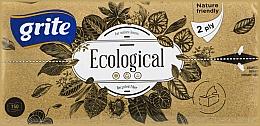 """Духи, Парфюмерия, косметика Полотенца бумажные листовые """"Ecological"""", 2 слоя, 150 листов - Grite"""