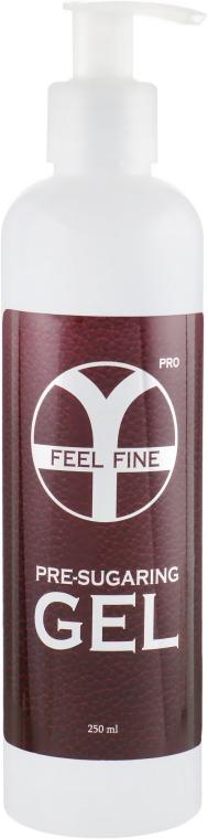 Гель для подготовки кожи к шугарингу - Feel Fine Pro Pre-Sugaring Gel
