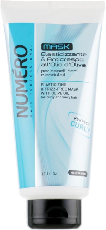 Маска для вьющихся волос с оливковым маслом - Brelil Numero Elasticizing Mask