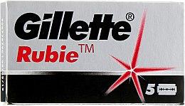 Духи, Парфюмерия, косметика Лезвия - Gillette Rubie Platinum Plus