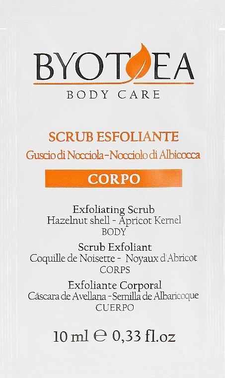 Скраб отшелушивающий для тела - Byothea Exfoliating Scrub Body Care (пробник)