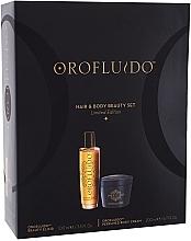 Духи, Парфюмерия, косметика Набор - Orofluido Hair & Body Beauty Set (elixir/100ml + b/cr/200ml)