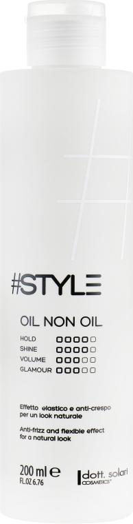 Масло без масла - Dott. Solari Style Oil Non Oil