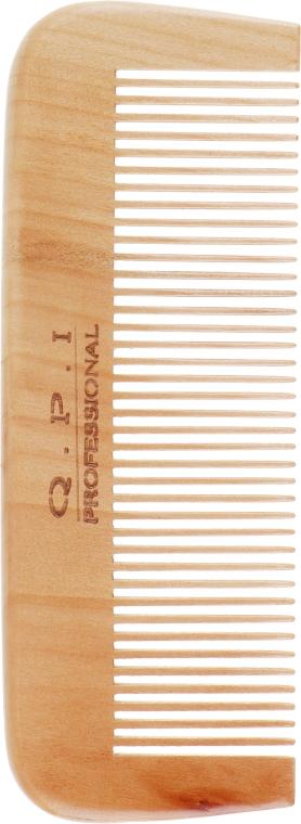 Гребень для волос, деревянный, DG-0010 - QPI