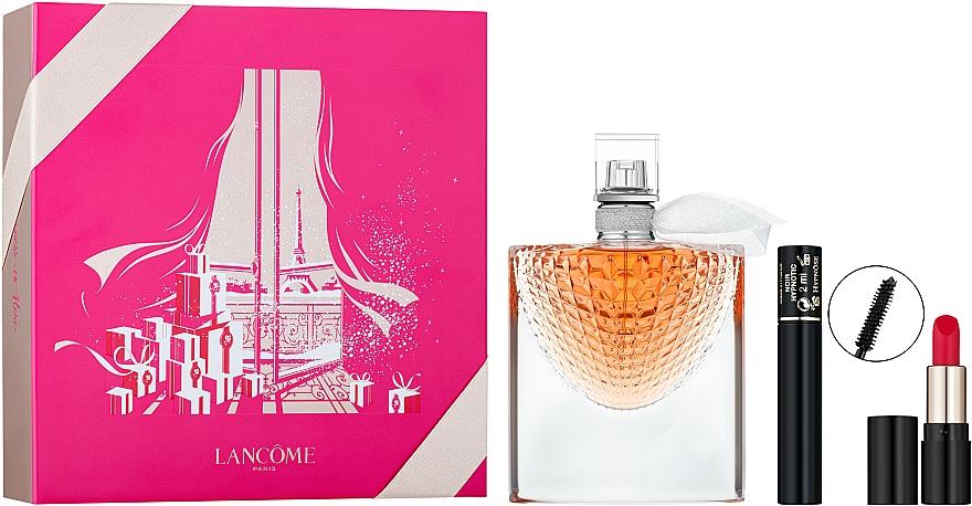 Lancome La Vie Est Belle L'Eclat - Подарочный набор (edp/50ml + lip/1.6g + mascara/2ml)