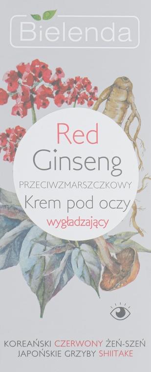 Крем для глаз с красным женьшенем - Bielenda Red Ginseng