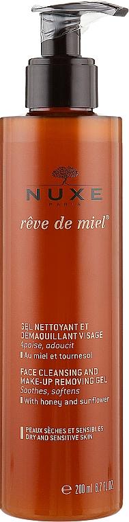 "Очищающий гель для лица ""Медовая мечта"" - Nuxe Reve de Miel Face Cleansing And Make-Up Removing Gel — фото N1"