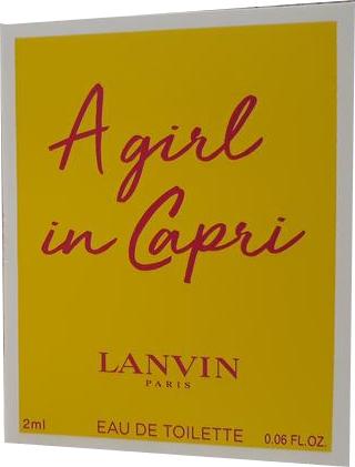 Lanvin A Girl in Capri - Туалетная вода (пробник)