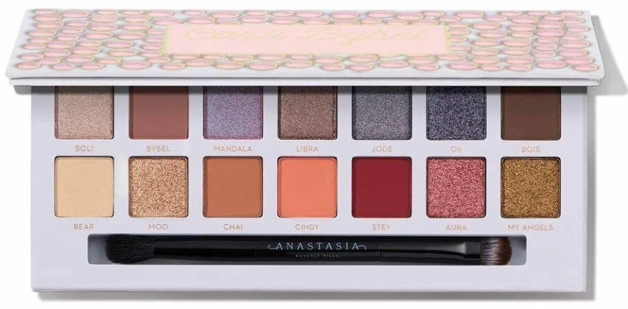 Палетка теней для век - Anastasia Beverly Hills Carli Bybel Eye Shadow Palette