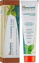 Духи, Парфюмерия, косметика Органическая зубная паста с мятой - Himalaya Herbals Complete Care Toothpaste Simply Mint