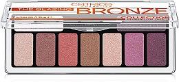 Духи, Парфюмерия, косметика Палетка теней для век - Catrice The Blazing Bronze Collection Eyeshadow Palette
