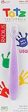 """Духи, Парфюмерия, косметика Зубная щетка для младенцев """"Totz"""" с 18 месяцев, фиолетовая - Radius"""